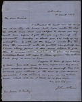 Letter from John McLean to James B. Finley