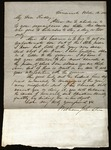 Letter from William Johnston to James B. Finley