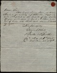 Letter from Butler & Brothers to James B. Finley