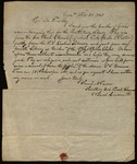 Letter from Samuel N. Peirce to James B. Finley