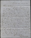 Letter from Frederick Merrick to James B. Finley