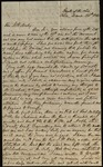 Letter from J. Hunt Jr. to James B. Finley