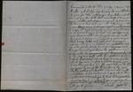 Letter from Sarah Gossett to James B. Finley by Sarah Gossett