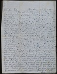 Letter from George Johnson to James B. Finley