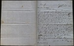 Letter from William Logue to James B. Finley