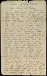 Letter from Charles W. Hamisfar Jr. to James B. Finley by Charles W. Hamisfar Jr.