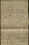 Letter from Augustus Eddy to James B. Finley