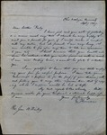 Letter from E. Thomson to James B. Finley