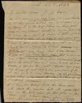 Letter from Arthur W. Elliott to James B. Finley by Arthur W. Elliott