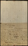 Letter from Stephen Dando & Charles Irish to James B. Finley