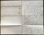 Letter from Squire Gray Eyes to James B. Finley