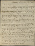 Letter from J.M. Jameson to James B. Finley