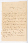 Letter from Thomas S. Armstrong to Jacob G. Armstrong by Thomas S. Armstrong