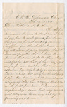 Letter from Thomas S. Armstrong to William Armstrong and Jane Armstrong by Thomas S. Armstrong