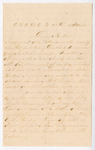 Letter from Thomas S. Armstrong to Jacob G. Armstrong