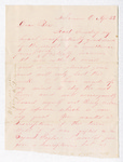 Letter from Wilbur F. Armstrong to Thomas S. Armstrong by Wilbur F. Armstrong