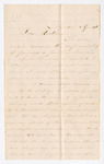 Letter from Wilbur F. Armstrong to Jacob G. Armstrong by Wilbur F. Armstrong