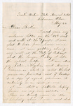 Letter from Wilbur F. Armstrong to Thomas S. Armstrong