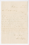 Letter from George J. Potts to Thomas S. Armstrong