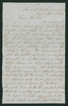 Letter from Jacob G. Armstrong to Thomas S. Armstrong