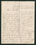 Letter from Jacob G. Armstrong, Jane Armstrong, and Matilda Hull to Thomas S. Armstrong
