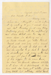 Letter from Abram Hull and Matilda Hull to Jane Armstrong by Abram Hull and Matilda Hull