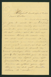 Letter from Abram Hull and Matilda Hull to Thomas S. Armstrong by Abram Hull and Matilda Hull