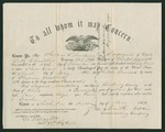 Letter from Mortimer Leggett to Thomas S. Armstrong