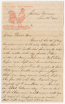 Letter from Robert Hanson to Thomas S. Armstrong