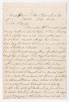 Letter from Thomas S. Armstrong to Armstrong Family