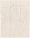 Letter from George W. Porter to Amanda Porter