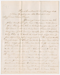 Letter from George W. Porter to Francis P. Porter