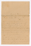 Letter from Mary Armstrong to Francis P. Porter