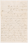 Letter from George W. Porter to Jacob G. Armstrong by George W. Porter