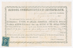 Teaching certificate for Francis P. Porter