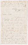 Letter from John W. Marshall to Francis P. Porter