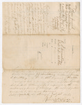 Letter from Robert W. P. Muse to Thomas S. Armstrong