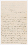 Letter from John McGee to Francis P. Porter