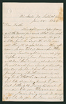 Letter from Thomas S. Armstrong to William Armstrong