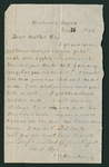 Letter from Thomas S. Armstrong to Augustus Armstrong
