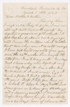 Letter from Thomas S. Armstrong to William Armstrong and Jane Armstrong