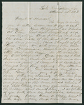 Letter from John W.A. Gillespie to Francis P. Porter and Huldah Porter