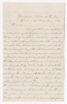Letter from Thomas S. Armstrong to Francis P. Porter