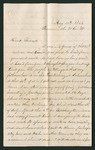 Letter from R.A. McGee to Jacob G. Armstrong