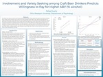 Involvement and Variety Seeking among Craft Beer Drinkers Predicts Willingness to Pay for Higher ABV (% alcohol)